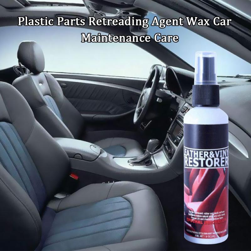 30мл пластиковых деталей Wax Приборная панель Вулканизация Агент салона Авто Пластиковые Отремонтированный Покрытие Paste Обслуживание Агент