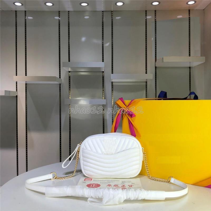 Bolsas de piel Mujer Carteras bolsa de hombro señoras de bolso individual de la nueva venta caliente forman el bolso de las mujeres M53682