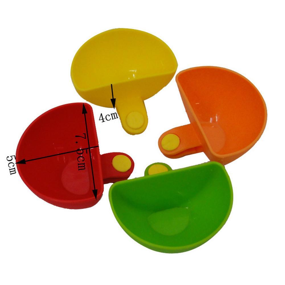 Stürzte Vorkin 1psc Dip Clips Küchenschüssel kitTool Kleine Gerichte Mittel Für Tomatensauce Salz Essig Zucker Geschmack Gewürze
