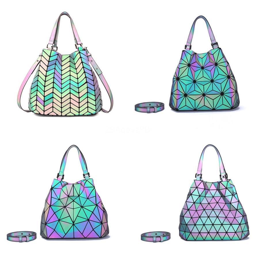 H Designer Sacs à main pour femmes chaîne classique Sacs bandoulière uni Mini Pu lumineux Laser luxe Tote Messenger Bag Sacs # 321