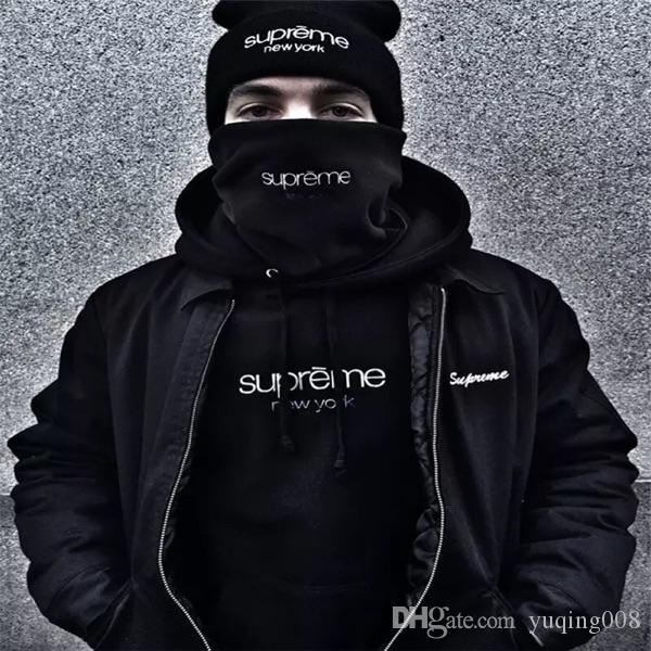 2019 16FW Sup Polartec Fleece Neck Gaiter Scarf Face Protector