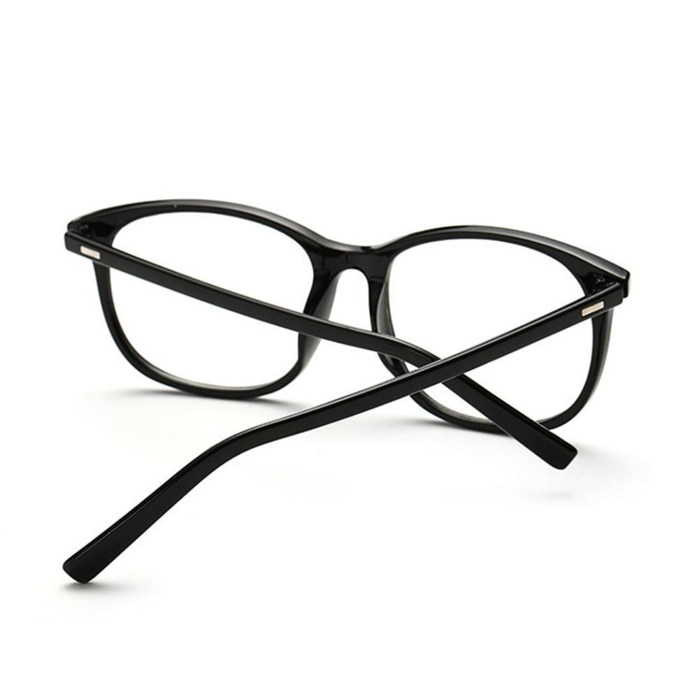 Gros-Brand Lunettes de soleil femmes lunettes cadre Retro Vintage Lunettes lentilles claires métal Plain optiques Lunettes C18122501