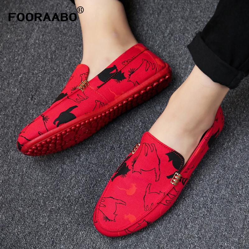 2019 New Fashion Men Loafers Casual Shoes Spring Autumn Soft Male Loafers Breathable Shoes Man Flats Zapatos Hombre