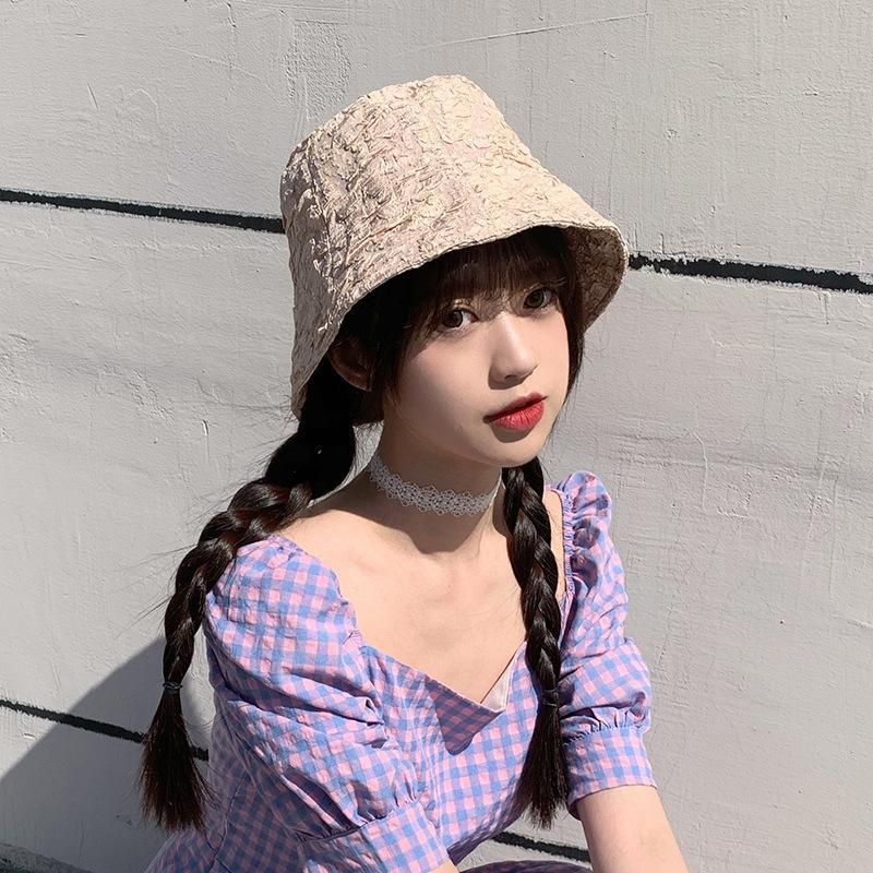 ins chapeau seau vent seau enfants pêcheur parasol littéraire plissé marée chapeau de bassin