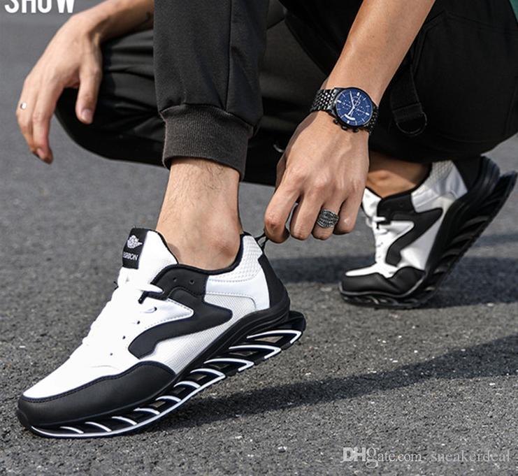 Laufschuhe Männer Frauen Komfort Atem Stil für Sportschuhe Low Cut vier Jahreszeiten Joggen Liebhaber Luftkissen Turnschuhe
