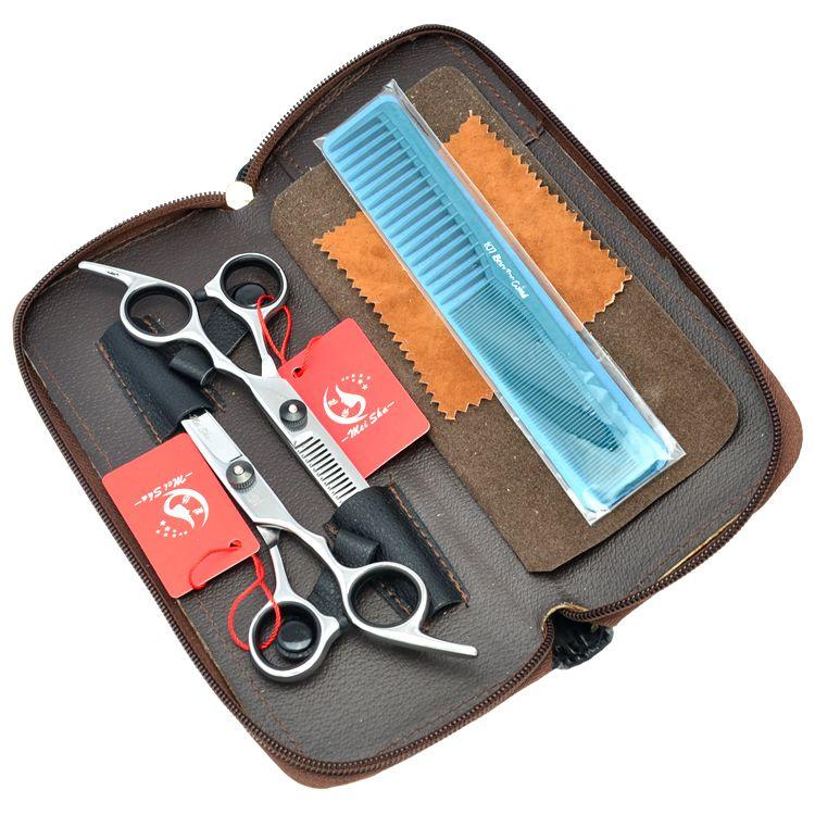 Meisha 6.0 Inch Japan Hairdressing Scissors Professional Barber Hair Cutting Scissor Thinning Shears Salon Tesoura Sharp Edge Razors HA0119