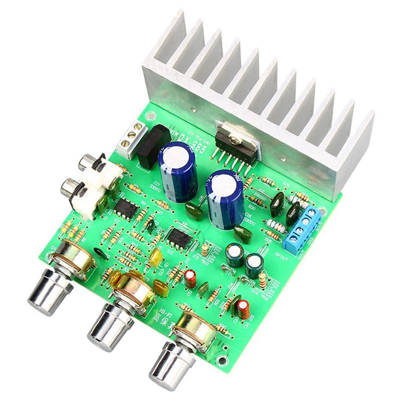 2.0 قناة ستيريو TDA7265 مكبرات الصوت مجلس 40Wx2 Amplificador DIY نظام صوت المتكلم المسرح المنزلي المزدوج AC12-15V