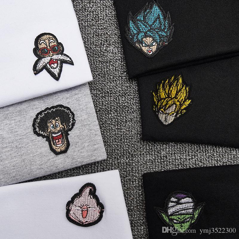Erkekler ve kadınlar Japon orijinal karikatür karikatür boy erkek ve kadın çift saf pamuk yuvarlak yaka kısa kollu Tişört BF tarzı
