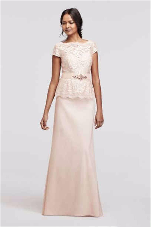 Großhandel Cap Sleeve Pailletten Lace Mock Zweiteiliges Kleid Pink Sexy  Mutter Der Braut Dres Hochzeit Kleid Abendkleider Von Meddel11, 11,11 €  Auf