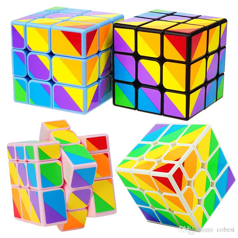 Unequal Magic Cube Puzzle Magic Game Toys Adult Children Colorful Learning Educational Gifts 3x3x3 Magic Cube Toys