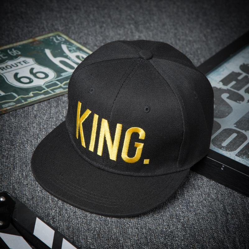 Valentine/'s Day Gift Lovers KING And QUEEN Hip Hop Snapback Hats Baseball Cap