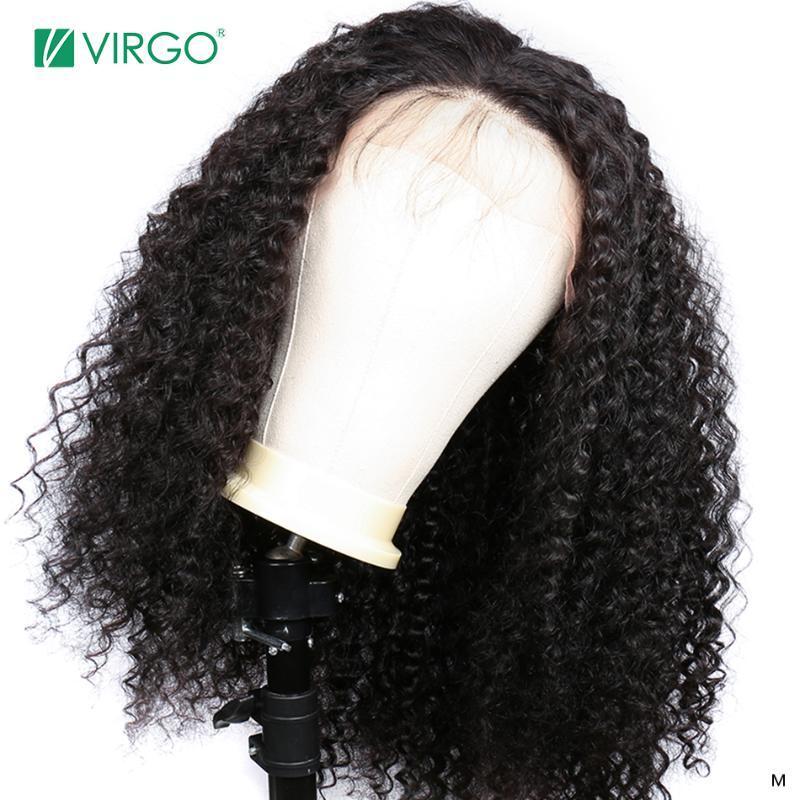 Başak 13x4 Dantel Ön İnsan Saç Peruk Öncesi Mızraplı İçin Kadınlar Brezilyalı Derin Dalga Dantel Frontal Peruk ile Bebek Saç Remy% 150 Yoğunluk