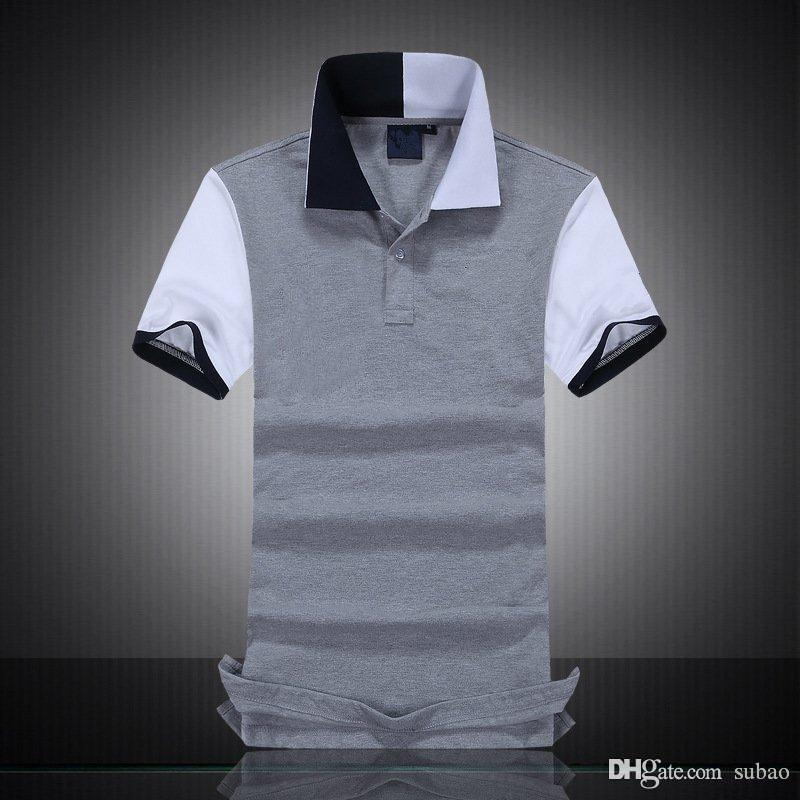 2021 Designer Polo Shirts Men Polo Shirt Tshirt BLACK WATCH ...