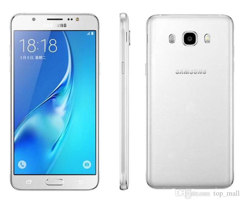 Оригинальный Samsung Галактики главе J7 2016 J710F 5,5-дюймовый Окта Core двойной SIM карты 16 Гб ROM восстановленное телефон