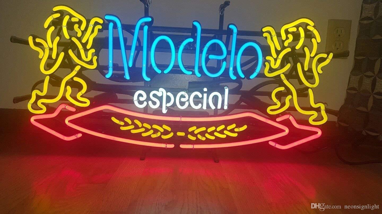 2020 Modelo Especial Beer Neon Sign Man Cave Bar Pub Beer