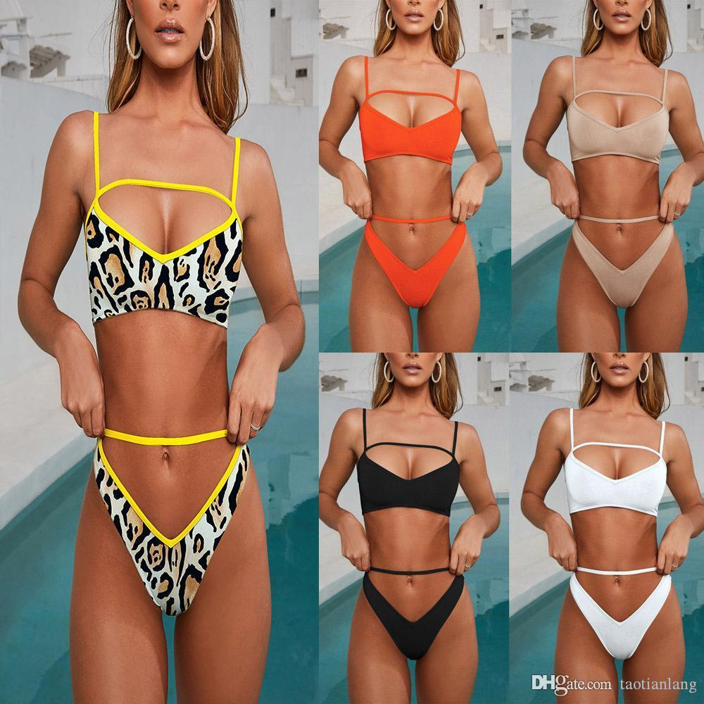 Womens Designer Bikini Swimwear One Two Piece Mulher Swimsuit fatos de banho Biquini Bodysuit Beachwear Monokini por Mulheres J190642