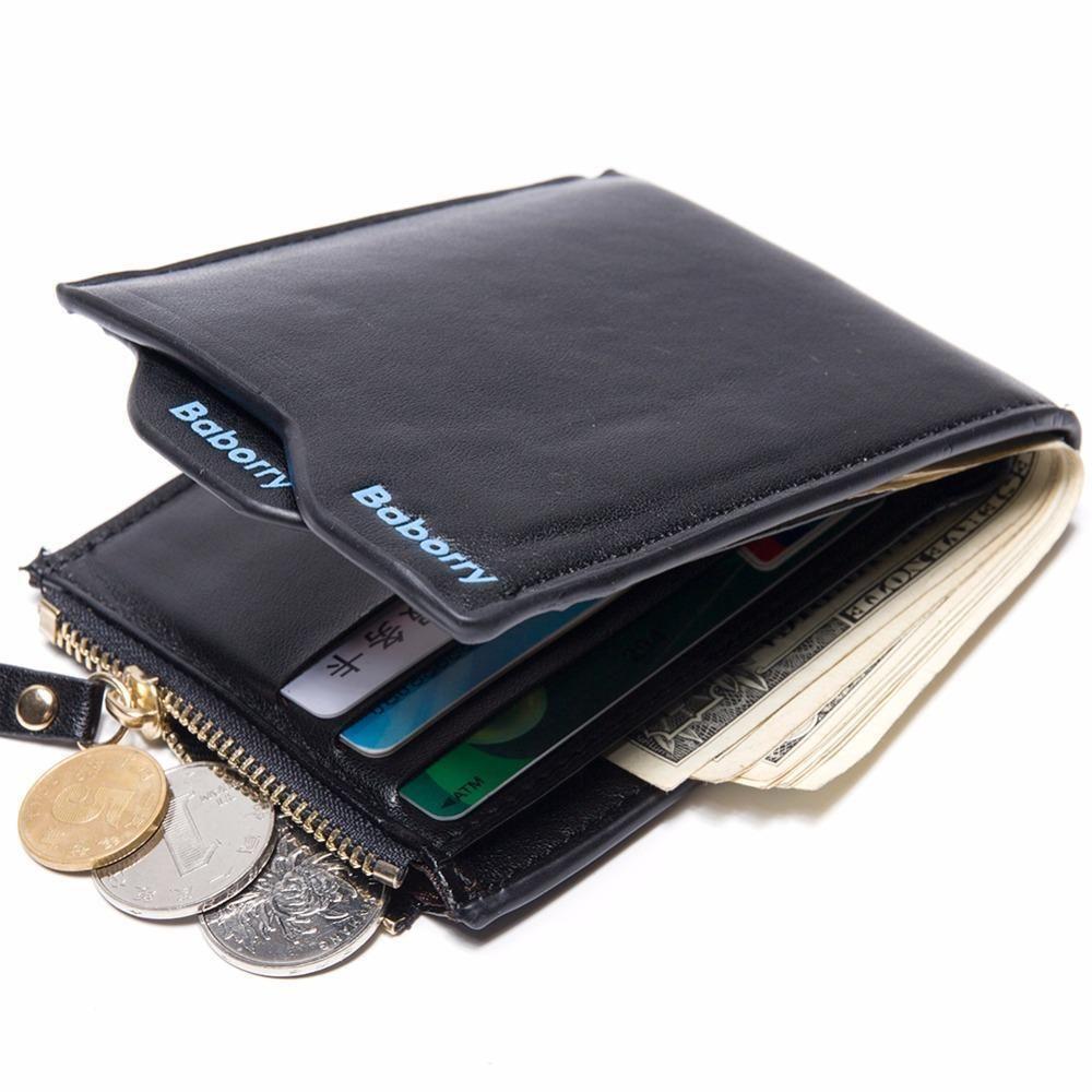 Crazy2019 Hot Attraktive Männer Brieftaschen Brieftasche ID Kartenhalter Münzfach Clutch Mit Reißverschluss Männer Brieftasche Mit Münztüte Geschenk