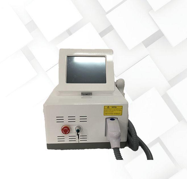 taşınabilir 808nm / 755nm + 808nm + 1064nm diyot lazer profesyonel ağrısız epilasyon makinesi