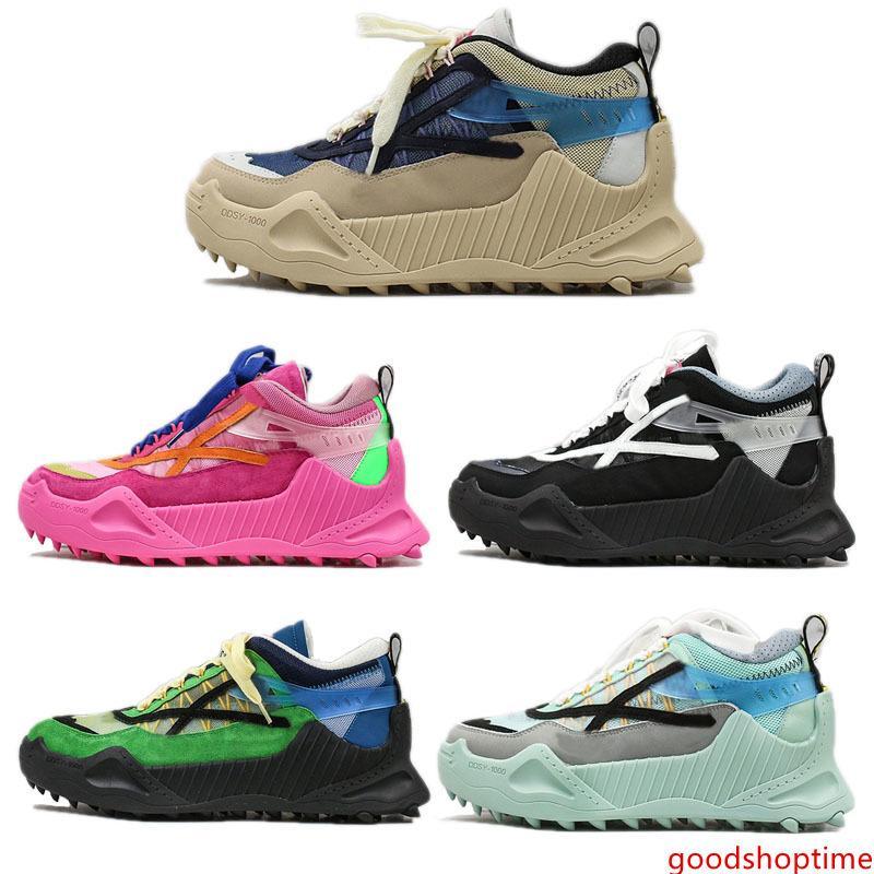 2020 Новый ODSY-1000 Обувь Arrow Баскетбол Мужчины Женщины Бег Белый Черный Vintage платформы Off модельер Chaussures кроссовки