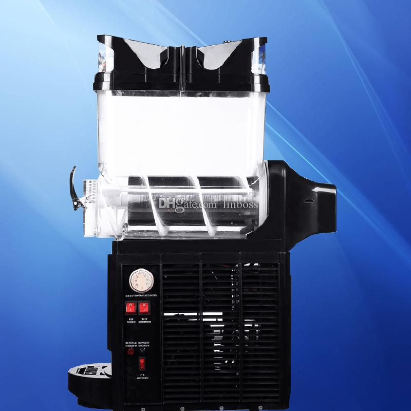 Low cost sale of economical household snow melting mechanism ice machine single can smoothie cold drink machine