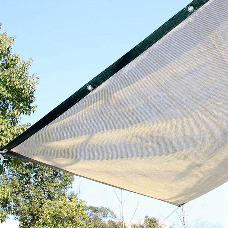 Зеленый сад Укрытие Shading Чистой Anti-UV Зонт Net Открытых маркизы Сад Бассейн Shade сочный растительный покров
