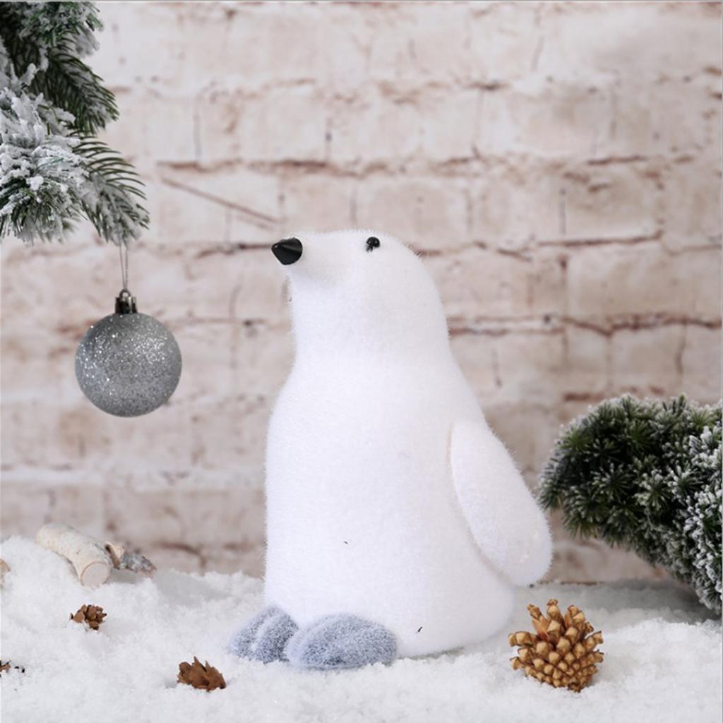 Pingüino Figura animal Figura Decoración de Navidad Decoración Para Nursery Habitación Sala