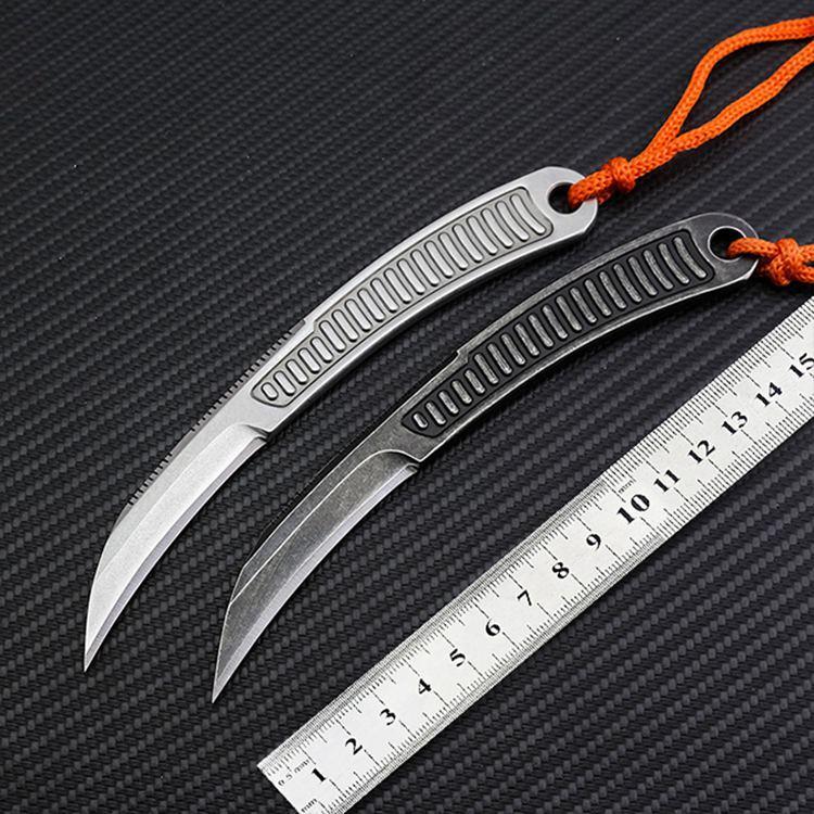 Bıçaklar otomatik av bıçağı sağkalım katlama bıçak 440C Çelik EDC yarar Kamp Kendini savunma taktik açık düz sabit blad