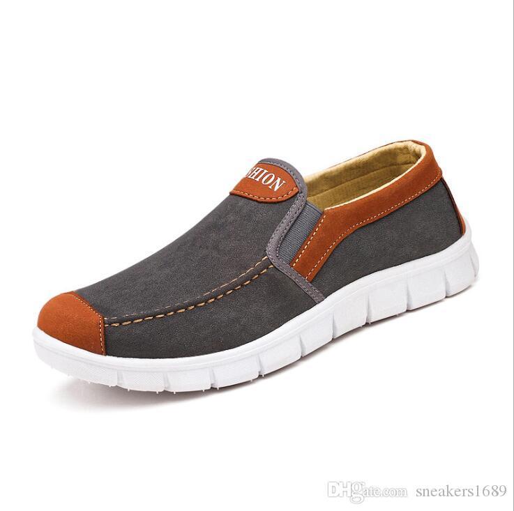 Wholesale neue Männer bequeme Schuhe Müßiggänger Wohnungen Espadrilles Schuhe Größe 39-44 X139