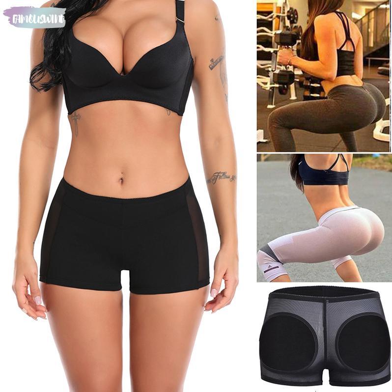 Além disso Bundas Lifter Briefs lingerie para mulheres cintura instrutor Shaper Corpo Controle Calcinhas Panty Luz Ass Levante Sexy Short Us