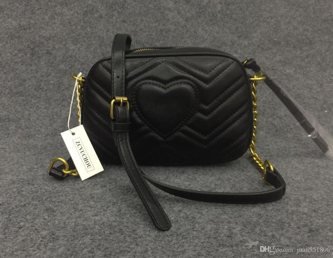 2019 nuovo stile famosa marca più popolare borse delle donne delle borse del progettista feminina piccolo sacchetto del raccoglitore 21CM