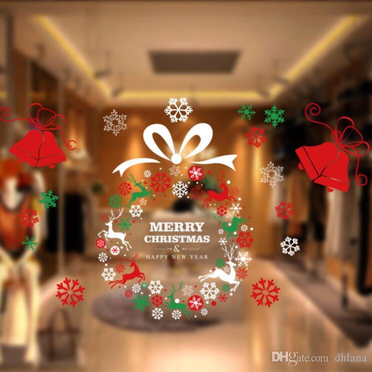 Neue hochwertige Weihnachts-Strumpf Geschenk-Taschen Weihnachten Weihnachten dekorative Dekorationen Strumpfsocken Taschen Weihnachtsglas stickers3