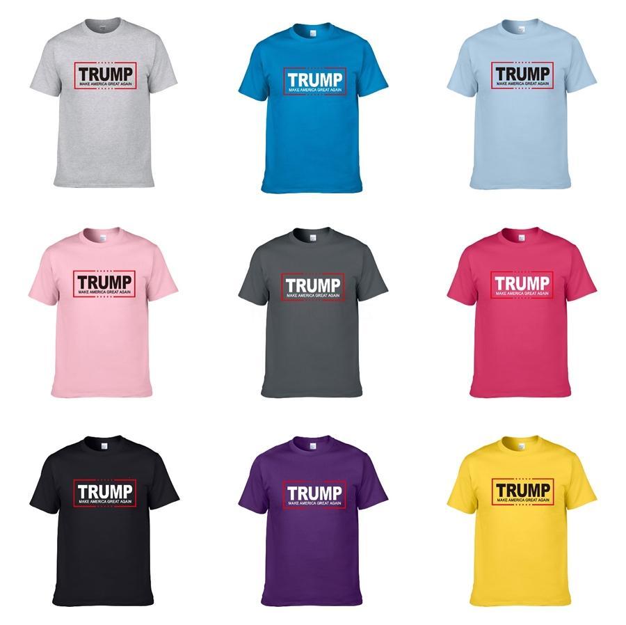 20Ss Essentials New Reflective Letter Printing Trump T-Shirt Crew Neck Short Sleeve Tee Couple Women Mens Designer Fashion Shirt Hfxhtx045 #8