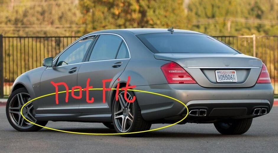 4Pcs Mud Flaps For Benz S-Class S Class 2007-2013 W221 V221 Mudguards Guards Set