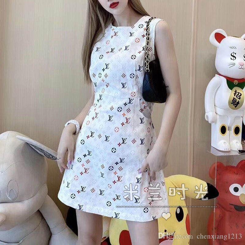 Web Berühmtheit der gleichen instagram Ärmel sundresses für Frauen im Sommer Mode koreanische Version des temperamentsslim Kleides