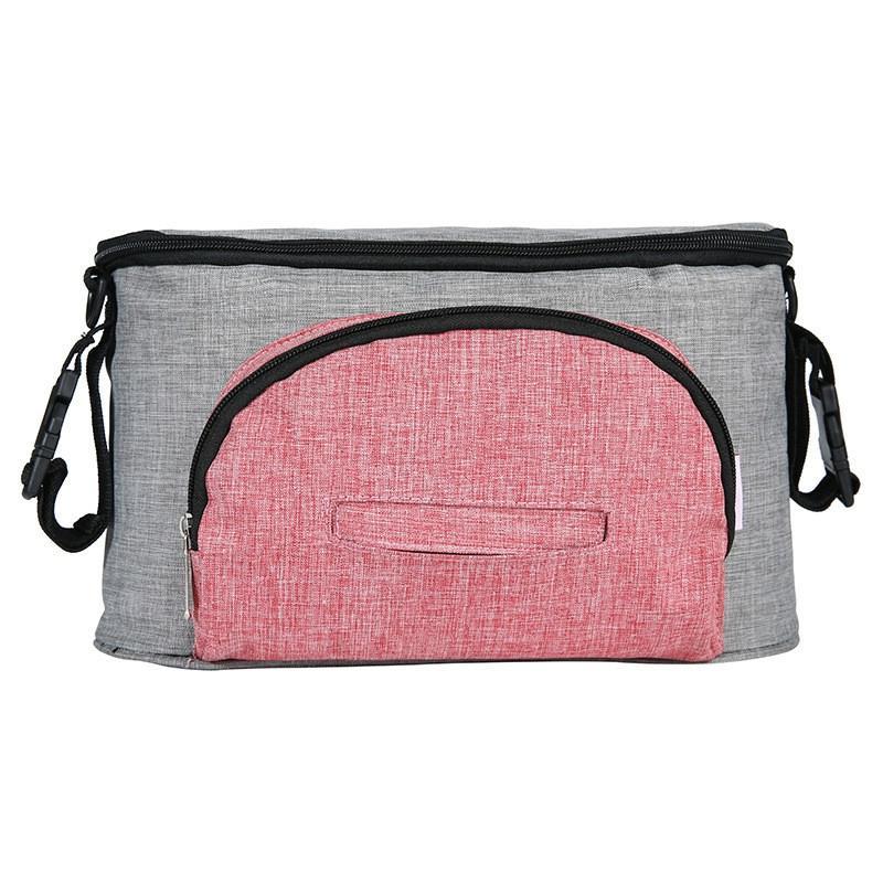Universal Baby Stroller Bag Bb Car Stroller Accessories Storage Storage Bag Baby Stroller Multi-Function Storage Bag Bottle Diap