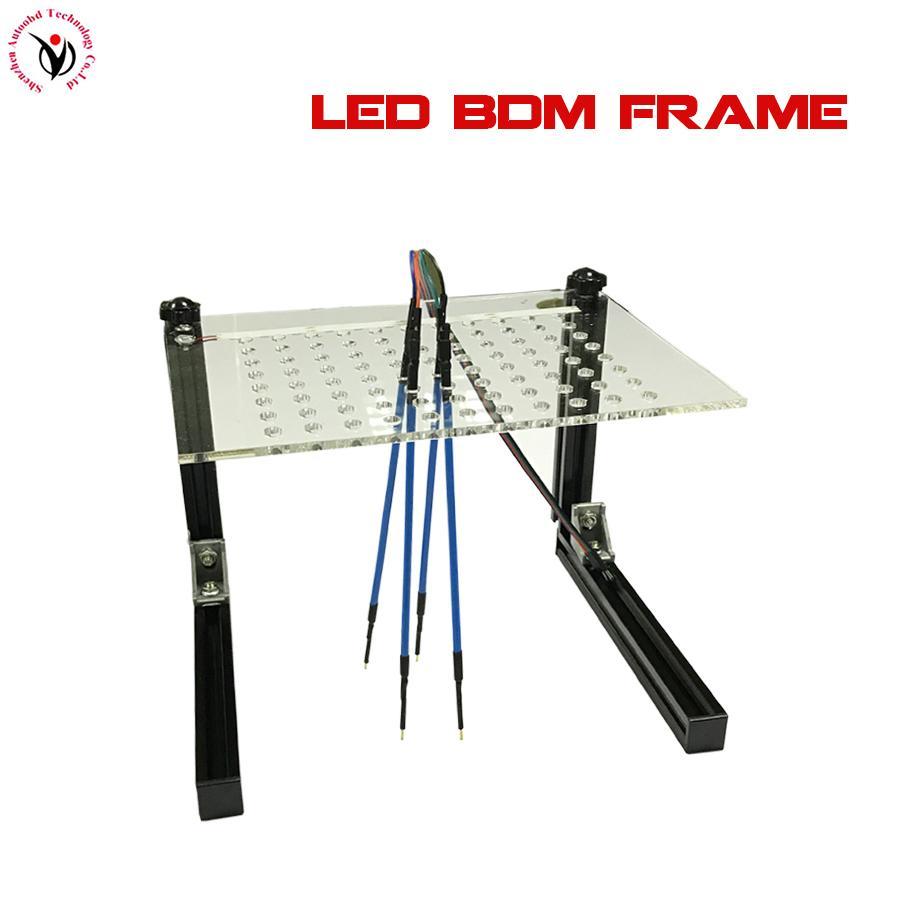LED BDM Frame Programmer with 4 Probe Pens Car ECU Chip Tuning Tool Full Set For KESS / KTAG Fgtech Galletto BDM100 KTM100