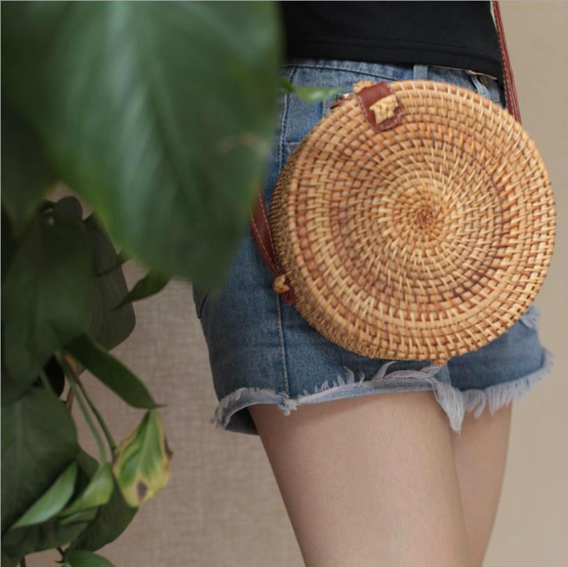 Designer Crossbody Bag Bamboo Weaving Shoulder Bags Woman Female Fashion Handbags Messenger Satchel Tote Crossbody Bag #t7b7