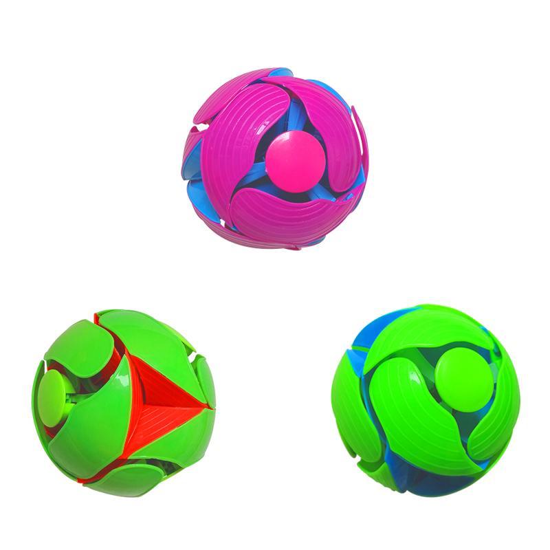 Criativa mão jogando infantil Bola Cor Variável Magic Ball Toy para aliviar o stress Cor novidade Alterando Magia Toy Boy Bola