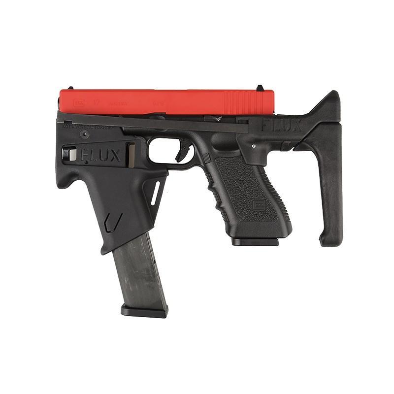 GLOC / G17 시리즈 용 G17 Carbine 변환 키트 전술 브레이스 Airsoft Roni Toys Pistol 나일론 1000 루멘 손전등 EDC 장비 만들기