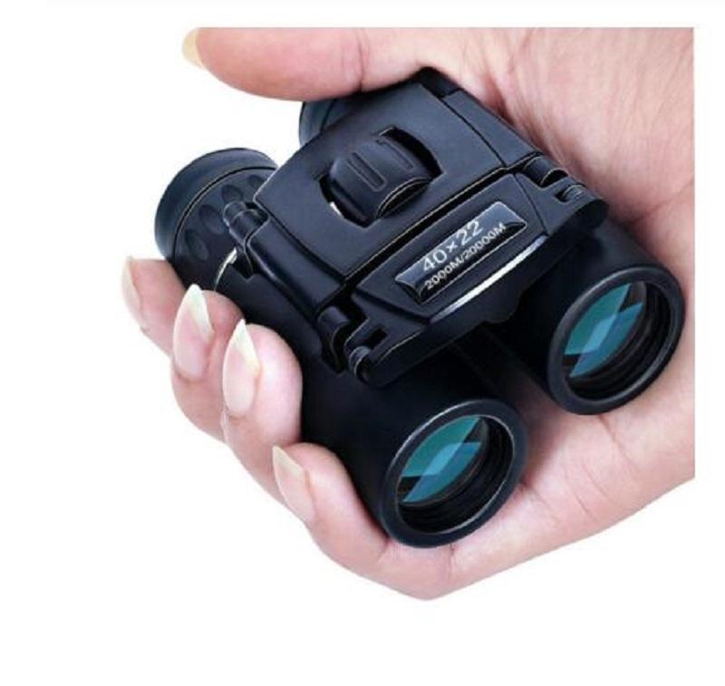 40x22 HD Мощный Бинокль 2000M Long Range Складной Mini Telescope BAK4 FMC Оптика для охоты Спорт Открытый Отдых Путешествия