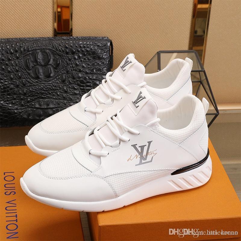 Новый список мужская повседневная спортивная обувь, высокое качество тенденция мужская дышащая повседневная спортивная обувь личность дикая мужская Повседневная обувь размер 38-45 0006