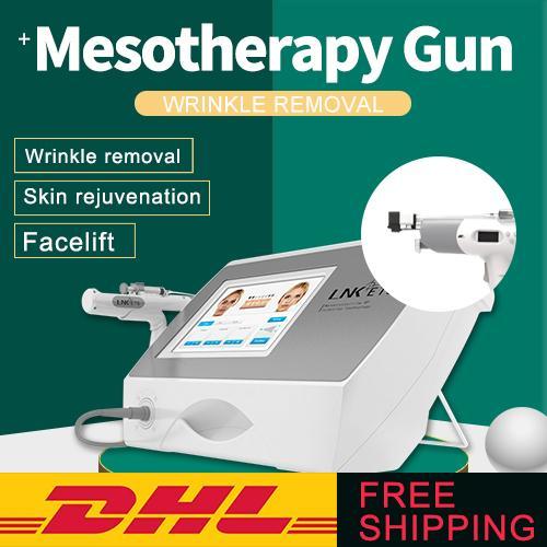 Hottest terapia meso attrezzature di bellezza senza ago indolore pelle riparazione pistola mesoterapia iniettore per la cura della pelle