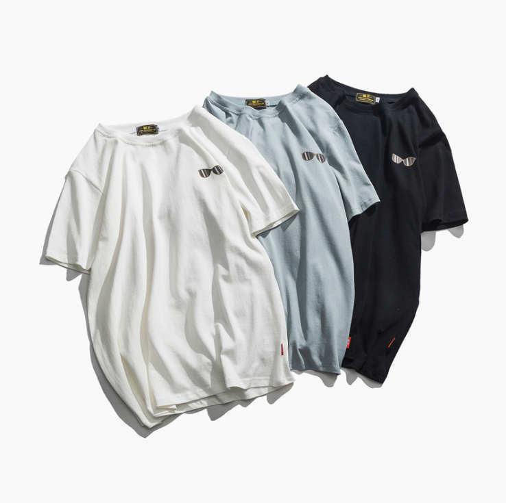 2020 Mens Del Progettista Casual t-shirt 2019 di estate di stampa animale traspirante Allentato T-Shirt M - 4XL 11