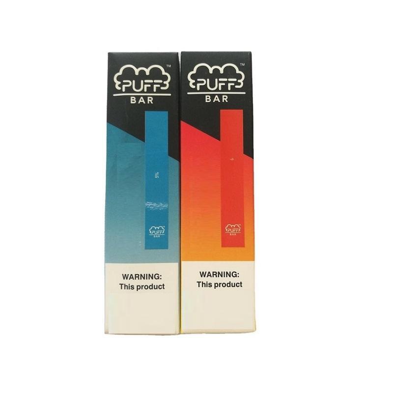 Puff Bar одноразовое вейп устройство с кодом безопасности батарея 280mAh емкость 1,3 мл Puffbar Vape pen 19 цветов картридж vs puff plus упаковка