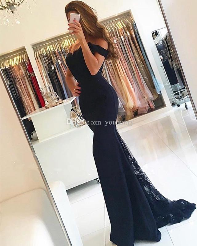 2019 New Lace Bridesmaid Dresses Long Off-shoulder Zipper Back Formal Party Gowns Sweet 16 Girls Junior Bridesmaid Dress