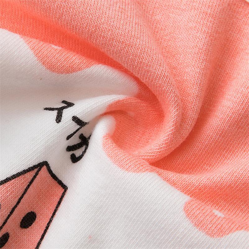 Le ragazze del fumetto della stampa Mutandine svegli biancheria intima di cotone bambini confortevole mutande giovani ragazze traspirante Slip Culotte Adolescente