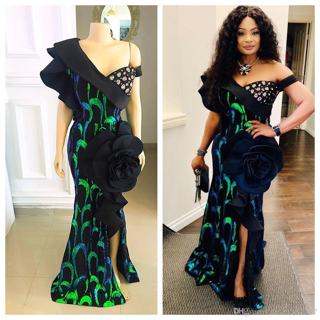 2020 beaded elegant mermaid evening dresses evening wear