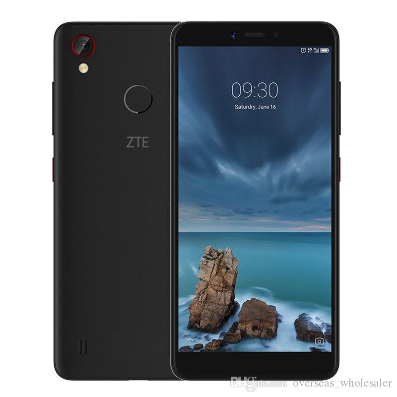 Original ZTE Blade A4 4G LTE Cell Phone 4GB RAM 64GB ROM Snapdragon 435 Octa Core Android 5.45 inch 13.0MP Fingerprint ID Smart Mobile Phone