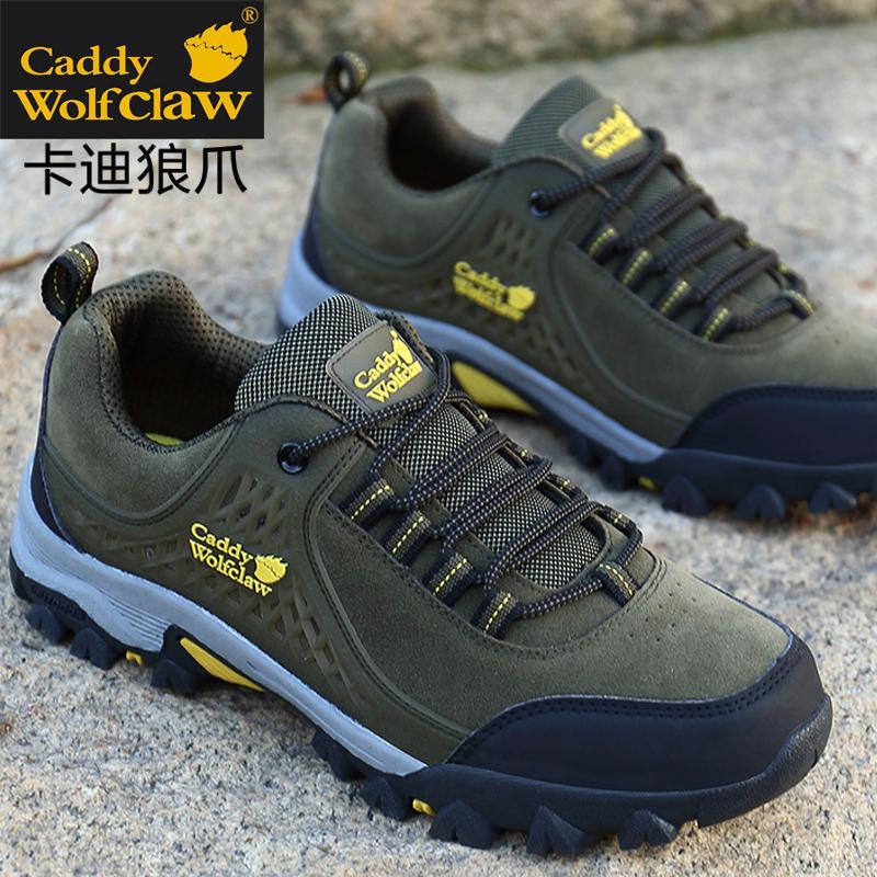 Erkekler Yürüyüş Memba Ayakkabı Erkek Dağcılık Ayakkabıları Açık Spor Su geçirmez Nefes Hunting'i yürüyüş