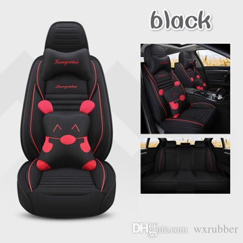 tipo dos desenhos animados capas de assento de carro saudável para Toyota Corolla Rav4 Auris Prius Yalis Avensis SUV Universal auto acessórios